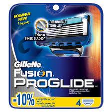 Купить Сменные <b>кассеты</b> для бритья <b>GILLETTE Fusion ProGlide</b> ...