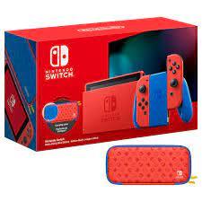 Máy Chơi Game Nintendo Switch Mario Red & Blue Edition - Nhập Khẩu -  Nintendo