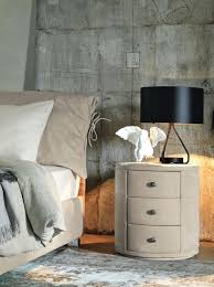 round bedside tables fascinating round bedside tables with rounded metal side table lamp and crosswise pedestal nightstand plus long lasting bed night style