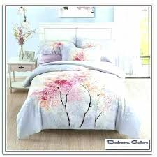 cherry blossom bedding comforter set red natori bed sets comforters quilts duvets bedspread cherry blossom bedding set