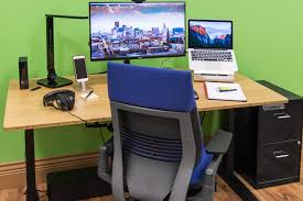 Computer desks for office Workstation The Best Homeoffice Furniture And Supplies Reviews By Wirecutter New York Times Company Hom Furniture The Best Homeoffice Furniture And Supplies Reviews By Wirecutter
