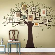 tree wall art decal family tree decal two colors wall decals scheme a  family tree wall