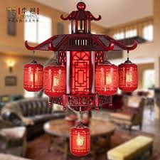 get ations grade wood carved ceramic chinese red chinese chandelier chandelier chandelier living room restaurant hotel villa chandelier