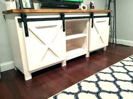 console table with doors barn door console barn door console sliding stand hardware for cabinets buffet