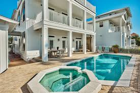 private pool and hot tub gulf view endless amenities 4484 oceanview drive destin florida