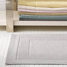 plush design thin rug creative ideas matouk cielos thin low profile cotton bath rugs