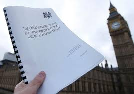 White Paper Brexit White Paper To Be Released After Resignation From
