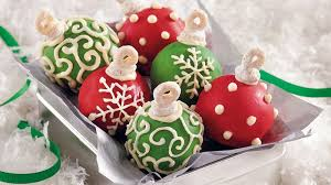 holiday cake balls. Unique Balls Cake Ball Ornaments Throughout Holiday Balls E