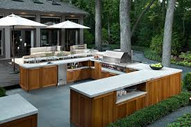 if you want a functional outdoor kitchen thank you thing about a large prep space