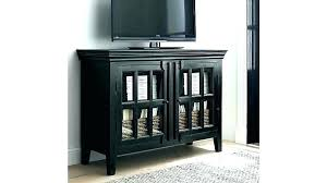 media cabinets with glass doors tall black storage cabinet low ikea stor