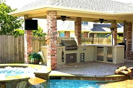 outdoor kitchen roof intended for outdoor kitchens designs decor small outdoor kitchen with pizza oven