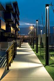 modern outdoor pole lighting. love the simplicity and function from these bega light columns. during day, you modern outdoor pole lighting a