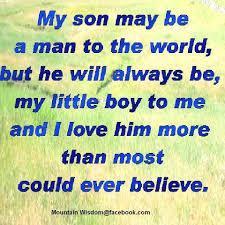 Love My Son Quotes Amazing I Love My Son Quotes And Sayings 48 QuotesBae