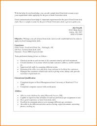 Medical Front Desk Resume Resume Templates