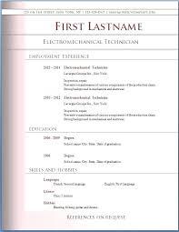 Resume Cv Example Pdf Curriculum Vitae Format Pdf Ideas Of