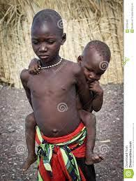 African Unidentified El Molo Children ...