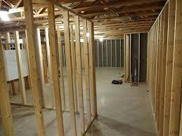 how do you frame a basement wall