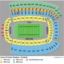 Amon Carter Stadium Seating Chart Amon Carter Stadium
