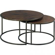 furniture amusing round copper coffee table the best outdoor top tables restoration artisan tribecca inch
