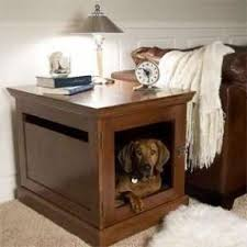 Nightstand dog crate 4