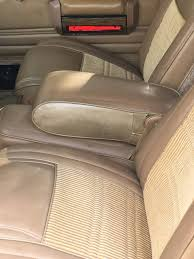 bent driver s seat in a wagoneer