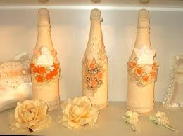 Decorated Bottles For Weddings Champagne bottle decorations for weddings Many weddings ideas 1