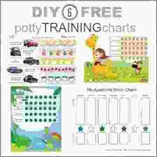 Potty Training Chart Diy