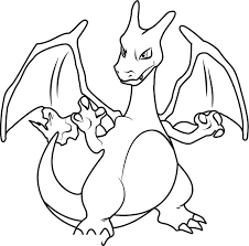 Printable Pokemon Coloring Pages Charizard Get Coloring Page