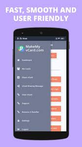 Digital Business Card Maker App By Make My Vcard For Android Apk