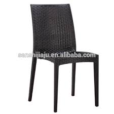 Modern chair plastic Stackable Modern Furniture Armless Rattan Polypropylene Pp Plastic Rattan Chairs Palette Parlor Modern Furniture Armless Rattan Polypropylene Pp Plastic Rattan