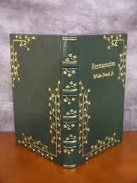 book cover gilding leather