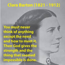 Clara Barton Quotes Custom Clara Barton Quotes