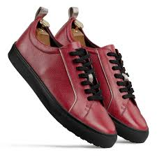 red black low top le