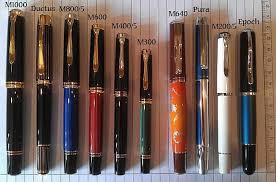 Range Of Pelikan Fountain Pens I Like The M1000 And The M800
