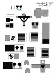 Freddy F Naf Papercraft Templates Hitechvtwin