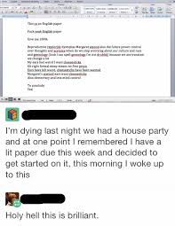tumblr user gets drunk and tries to write an essay thathappened tumblr user gets drunk and tries to write an essay