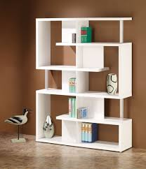 modern wood furniture design books. alternating shelves design room divider white finish wood modern styling slim line bookcase shelf unit. furniture books u