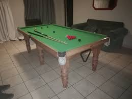 snooker table pool table 7ft wooden legs