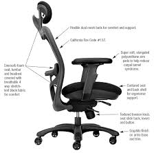cxo high back chair with chrome base