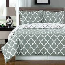 luxury twin xl bed in a bag dorm meridian gray reversible cotton comforter set free on luxury twin xl bed