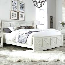 Cheap Bedroom Furniture Distressed White Pine Cottage Oak Look Large ...