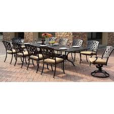 cton 11 piece dining set with cushion