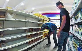estantes vacios en venezuela