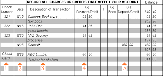 How To Write A Check And Balance Your Checkbook