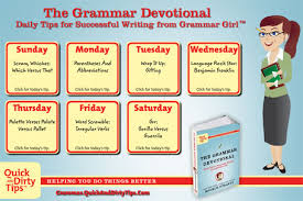 Grammar Tips The Grammar Devotional Quick And Dirty Tips