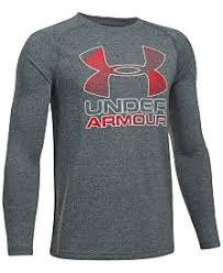 under armour shirts for boys. under armour ua tech graphic-print shirt, big boys (8-20) shirts for a