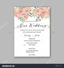 beautiful wedding floral vector invitation sample card design Pink And Green Wedding Invitation Templates beautiful wedding floral vector invitation sample card design frame template rose, daisy, red peony, pink and green hydrangea, camellia, carnation, pink Printable Wedding Invitation Templates