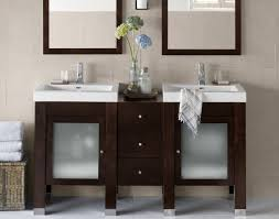 narrow double vanity. Contemporary Vanity Furniture Bathroom Popular Design Modern Narrow Double Vanity With Cool  Blur Glass Door And Mirror A