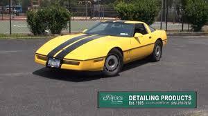 1985 Chevrolet Corvette Vehicle Overview & Test Drive - YouTube