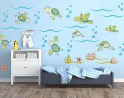 turtle wall art for nursery
